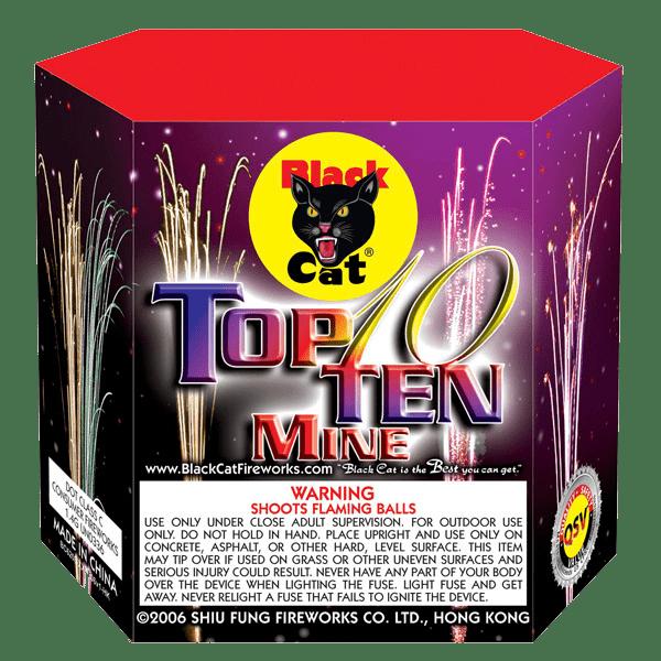 Top Ten Mine 10's | Black Cat Fireworks